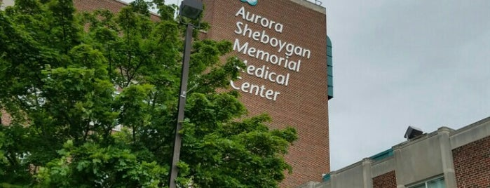 Aurora Sheboygan Memorial Medical Center is one of Brent 님이 좋아한 장소.