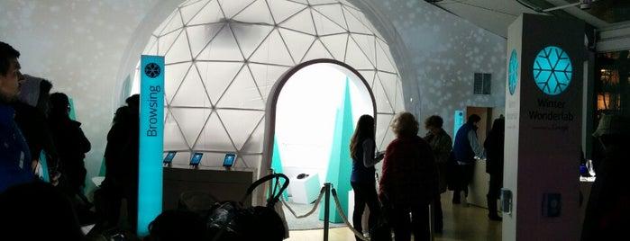 Google Winter Wonderlab is one of NYC.