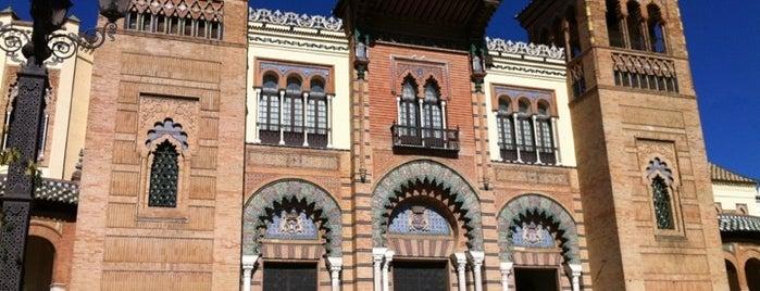 Museo de Artes y Costumbres Populares - Pabellón Mudéjar is one of Lieux sauvegardés par Fabio.