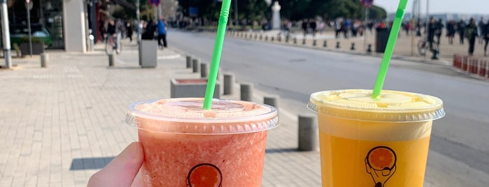 JOIN juice bars is one of Thess /Coffee Bars.