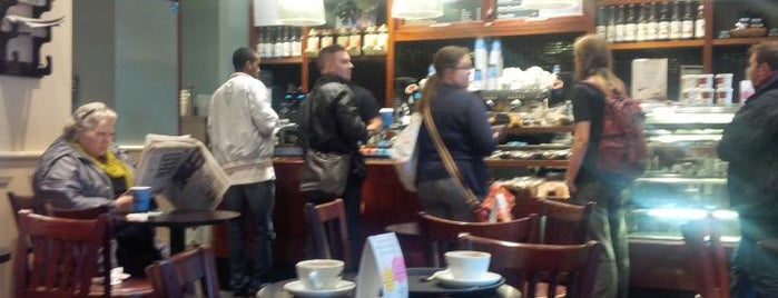 Caffè Nero is one of Manchester Coffee Addicts.