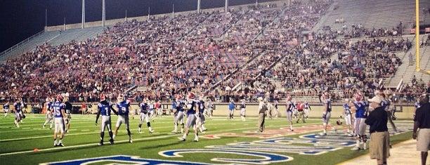 Independence Stadium is one of Orte, die Andrea gefallen.