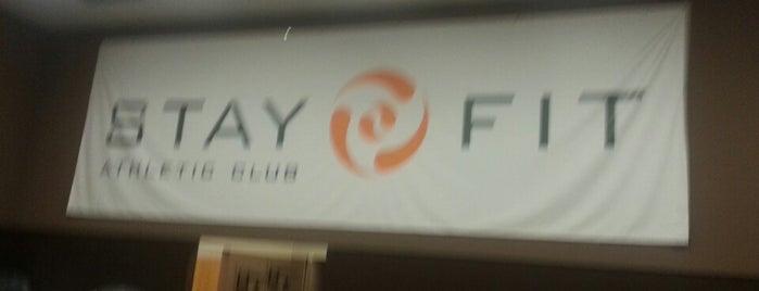 StayFit Athletic Club is one of Lugares guardados de Sarah.