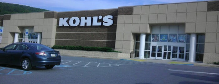 Kohl's is one of Places I go.