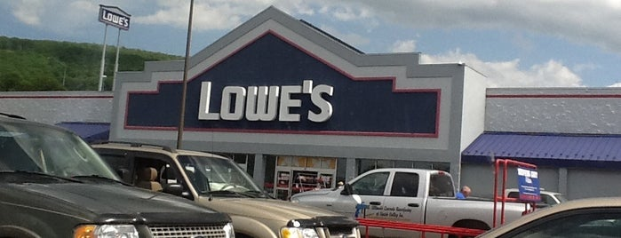 Lowe's is one of check ins.