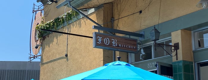 F.O.B. Kitchen is one of Oakland to do.