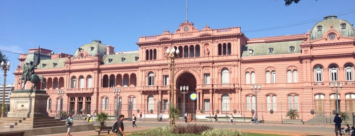 Casa Rosada is one of Buenos Aires.