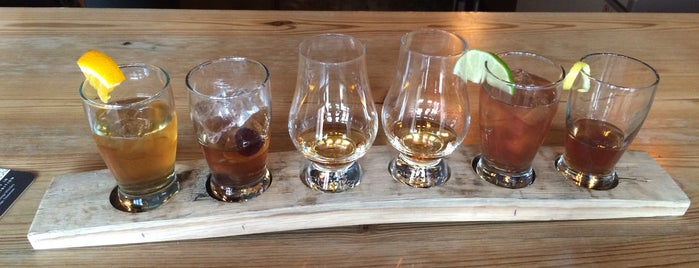 Chattanooga Whiskey Experimental Distillery is one of America's Top 20 Distilleries.