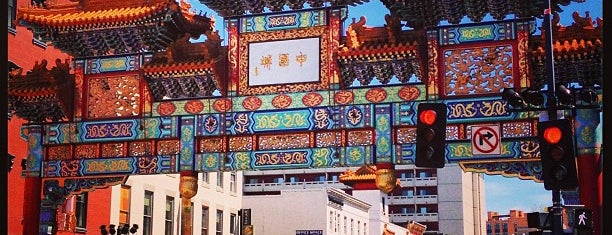 "Chinatown Friendship Archway is one of ""Hail, Columbia, happy land...""."
