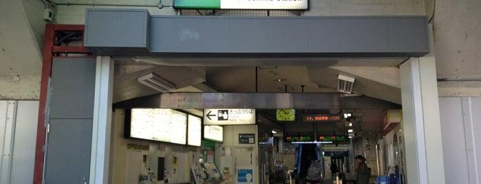Mikawashima Station is one of JR 미나미간토지방역 (JR 南関東地方の駅).