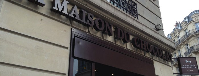 La Maison du Chocolat is one of EUROPE.