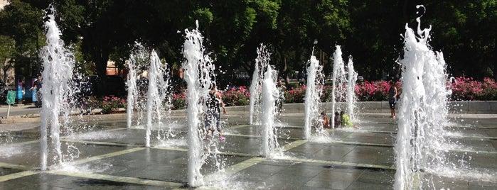 Plaza de Cesar Chavez is one of RockMed Places!.