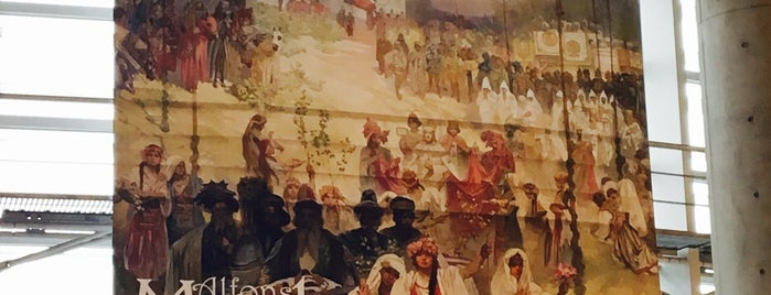 Alfons Mucha: The Slav Epic is one of Lieux qui ont plu à swiiitch.