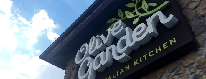Olive Garden is one of Locais curtidos por Danielle.