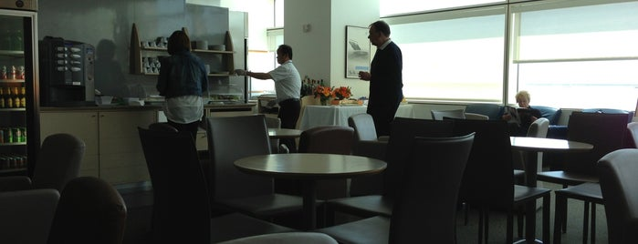 Air France-KLM Lounge is one of Orte, die Sandybelle gefallen.