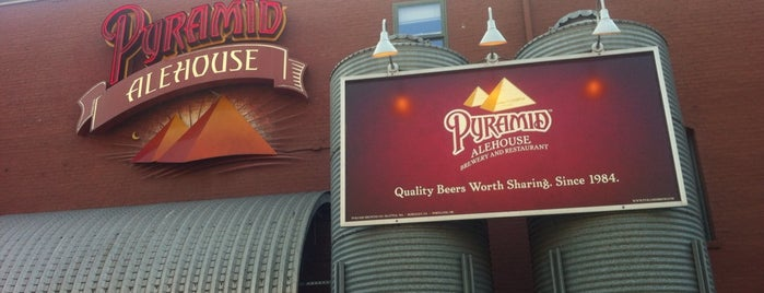 Pyramid Alehouse is one of West Coast Breweries.