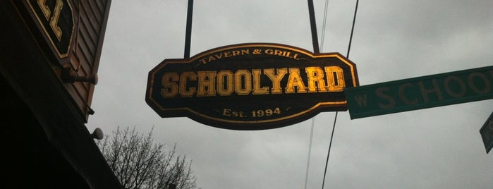 Schoolyard Tavern & Grill is one of Nifty Thrifty.