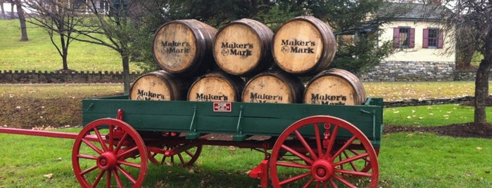 Maker's Mark Distillery is one of Bourbon Trail.