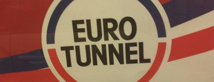 Eurotunnel Charles Dickens Terminal is one of Bienvenue en France !.