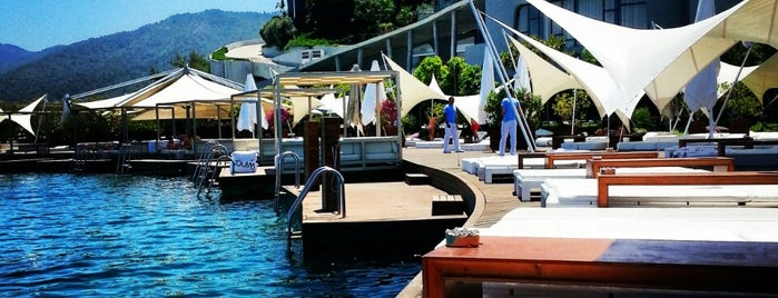 Kuum Hotel Beach is one of Bodrum.