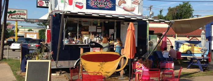 Hot Rod Coffee Trailer is one of Food Trucks.