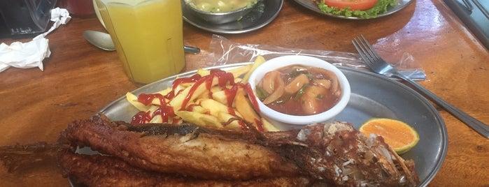 Restaurante Y Marisqueria Juanita is one of สถานที่ที่ Alejandro L ถูกใจ.