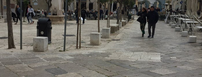 Piazza Garibaldi is one of A Wedding in Puglia.
