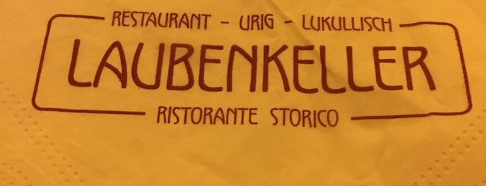 Locanda Laubenkeller Restaurant is one of Merano.