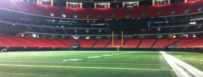 Georgia Dome is one of Dezzys Stops on DCI Tour.