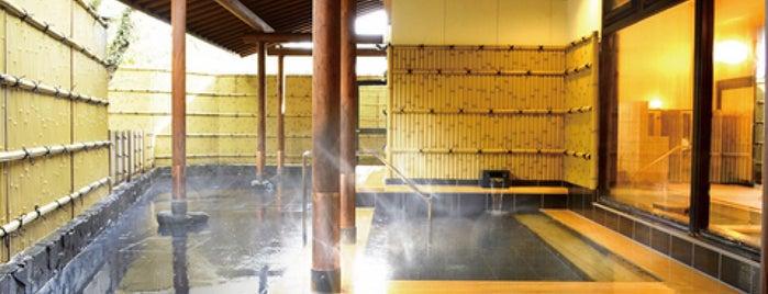 本谷温泉館 新館 is one of 訪れた温泉施設.
