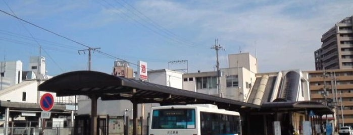 Yasu Station is one of 東海道本線.