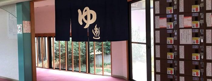 門前じんのびの湯 is one of 訪れた温泉施設.