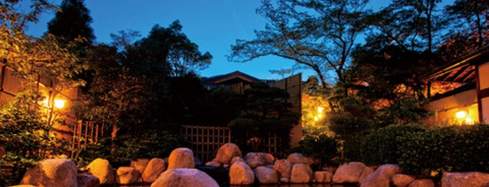 湯の山温泉 湯元 グリーンホテル is one of 訪れた温泉施設.