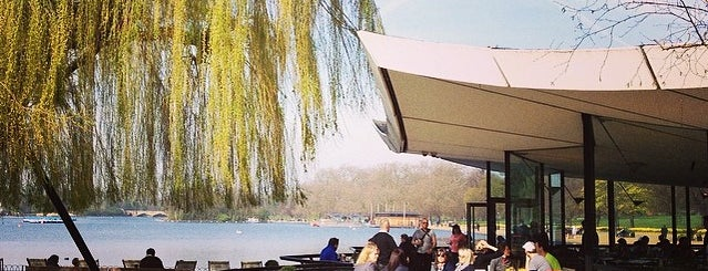 Serpentine Bar & Kitchen is one of London's great locations - Peter's Fav's.