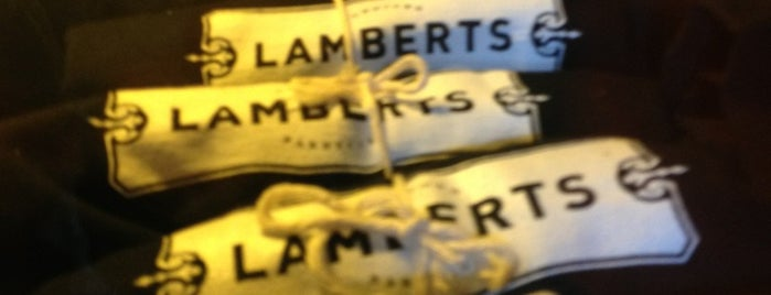 Lambert's Downtown BBQ is one of SXSW® 2013 (South by Southwest) Guide.