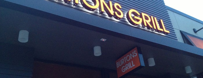 Burtons Grill is one of Lieux qui ont plu à Andy.