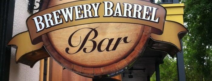 The Brewery Barrel Bar is one of Lugares guardados de Cris.