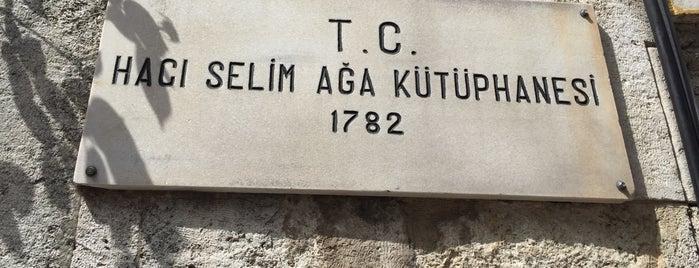 Hacı Selim Ağa Kütüphanesi is one of Gidilecekler.
