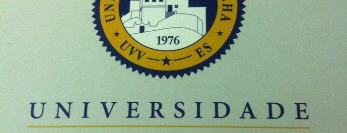 UVV - Universidade Vila Velha is one of Lugares ES.
