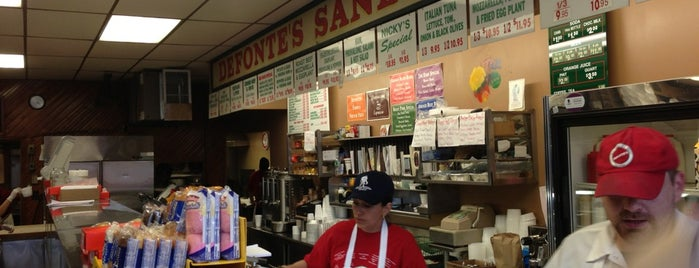 Defonte's Sandwich Shop is one of Restaurants to Try.