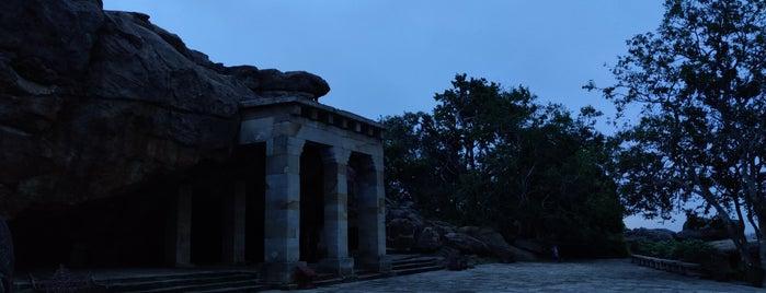 Khandagiri Caves is one of India: Odisha.