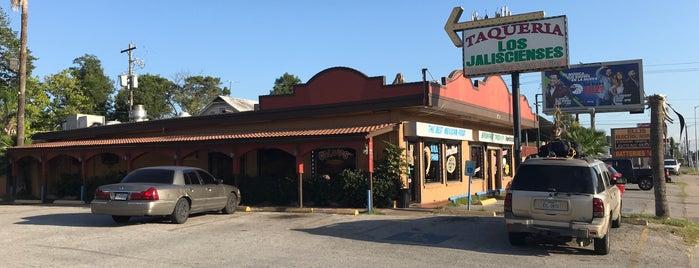 Taqueria Los Jaliscienses is one of Locais curtidos por Pablo.