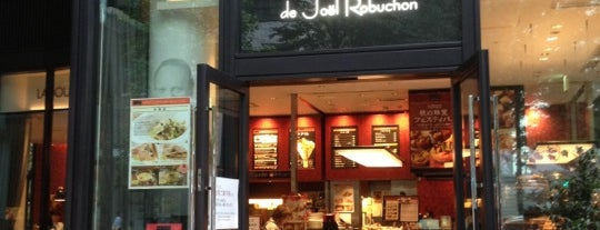 LA BOUTIQUE de Joel Robuchon is one of Japan.