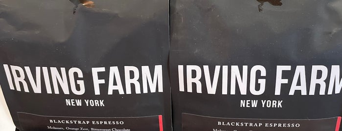 Irving Farm Coffee Roasters is one of NY exploration.