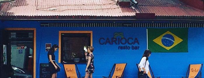 Carioca resto bar is one of krakow restaurants.