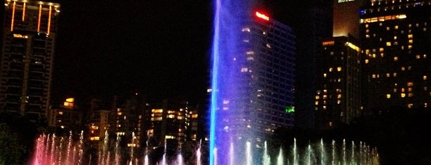 Kuala Lumpur City Centre (KLCC) Park is one of Follow me to go around Asia.