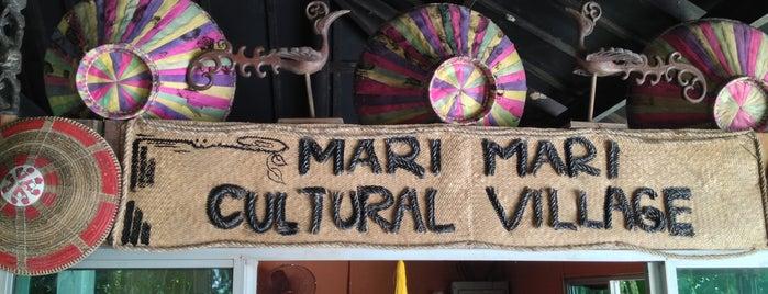 Mari-Mari Cultural Village is one of สถานที่ที่ Simon ถูกใจ.