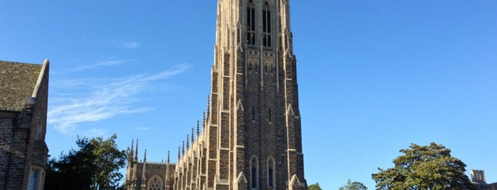 Duke University is one of North Carolina // Triangle.