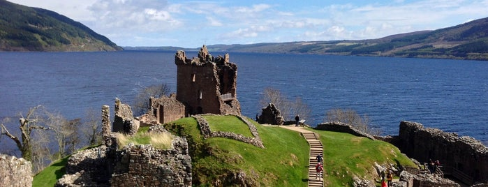 Urquhart Castle is one of Locais curtidos por Aldo.