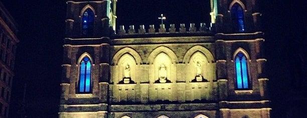 Basilique Notre-Dame de Montréal is one of Montreal.
